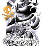 Buddah Tattooart Flash