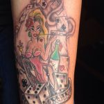Oldschool Pinup Tattoo