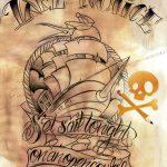 Sailor Ship Tattooart