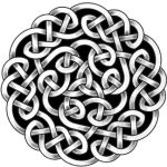 Keltischer Knotenkreis Tattoo