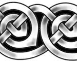 Keltisches Knotenband Tattoo