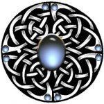 Celtic Knoten Schild Tattoo