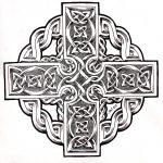 celtic cross biomechanical tattooflash