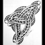 Celtic cemao tattoomotiv knot