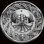 Celtic viking shield attoomotiv knots