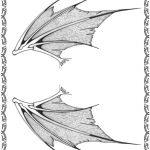 Tattoovorlage Drachenfluegel Ruecken