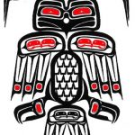 Nativ American Tattooart Geier Totem