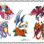 Tattoovorlage, tattooflash, swallow, schwalbe, bird, rose,oldschool, newschool