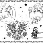 Tattoovorlage, mom,skull,glory,sexy