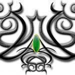 Tribal Tattoo bauch Tattoovorlage
