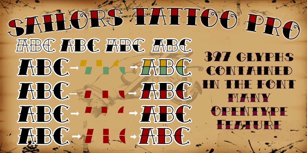 Tattoofonts für pc und mac