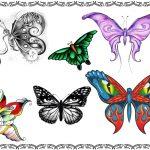 Tattoovorlagen Schmetterling, Butterfly