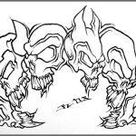Totenkopf tattoomotiv knoten