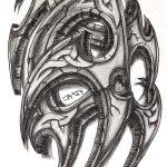 Stein Tribal tattoomotiv knoten