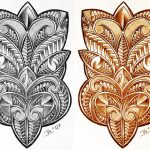 Tiki Maske tattooflash