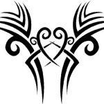 Tribal Tattoo intim herz Tattooflash