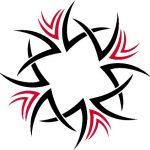 Tribal Tattoo rechteck Tattooflash
