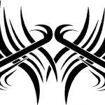 Tribal Tattoo intim simpel Tattooflash