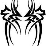 Tattoo symetrie Tattooflash