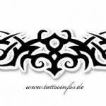 Tribal Tattoo back Tattoovorlage
