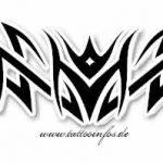 Tribal Tattoo tulpe Tattoovorlage