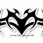 Tribal Tattoo fledermaus Tattoovorlage