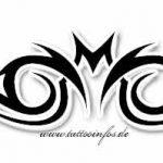 Tribal Tattoo bat Tattoovorlage