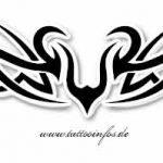 Tribal Tattoo schwan Tattoovorlage