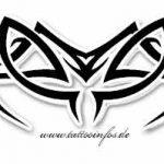 Tribal Tattoo insekt Tattoovorlage