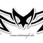 Tribal Tattoo spider Tattoovorlage