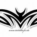 Tribal Tattoo batmann Tattoovorlage