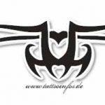 Tribal Tattoo herz Tattoomotive