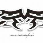 Tribal Tattoo flach Tattoomotive