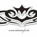 Tribal Tattoo krone Tattoomotive
