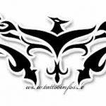 Tribal Tattoo flammen Tattoovorlage