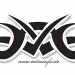 Tribal laenglich Tattoomotive