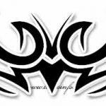 Tribal Tattoo adler Tattoovorlage