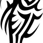 Tribal Tattoo oberarm Tattoovorlage