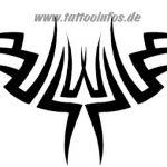 Tribal Tattoo brust Tattoovorlage