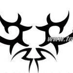 Tribal Tattoo elch Tattoovorlage