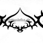 Tribal Tattoo piek Tattoovorlage