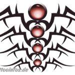 Tribal Tattoo rueckenpice Tattoovorlage