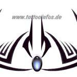 Tribal Tattoo breast Tattoovorlage